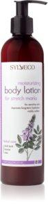 Sylveco Body Care Moisturizing Hydrating Body Lotion to Treat Stretch Marks