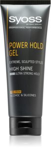 Syoss Men Power Hold Styling Gel  met Extra Sterke Fixatie
