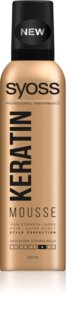 Syoss Keratin Styling Mousse  met Keratine
