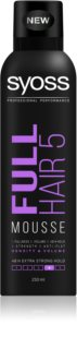 Syoss Full Hair 5 Styling Mousse With Extra Strong Fixation