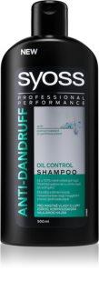 Syoss Anti-Dandruff Oil Control  Shampoo für fettige Haare gegen Schuppen