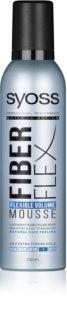Syoss Fiber Flex Schaumfestiger für mehr Haarvolumen