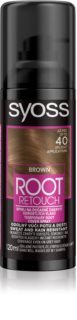 Syoss Root Retoucher coloration pour cacher les racines en spray