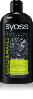 Syoss Curl Me shampoo idratante capelli mossi e ricci