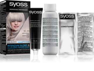 Syoss Cool Blonds tinte permanente para cabello