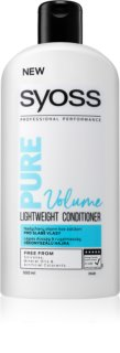 Syoss Pure Volume Volumizing Conditioner for Weak Hair