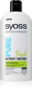 Syoss Pure Fresh Refreshing Conditioner for Normal Hair