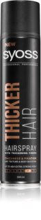 Syoss Thicker Hair Hairspray With Extra Strong Fixation