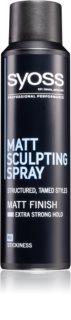 Syoss Matt Sculpting Muotoilusuihke Mattaisella Vaikutuksella
