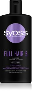Syoss Full Hair 5 shampoing pour cheveux affaiblis
