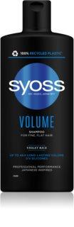 Syoss Volume champô para cabelo fino e sem volume