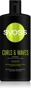 Syoss Curls & Waves shampoing pour cheveux bouclés et frisés