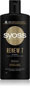 Syoss Renew 7 champú regenerador intenso para el cabello muy dañado