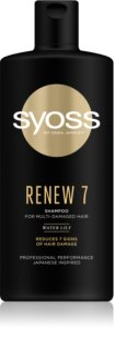 Syoss Renew 7 Intensive Regenerating Shampoo For Very Damaged Hair