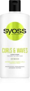 Syoss Curls & Waves kondicionér pro vlnité a kudrnaté vlasy