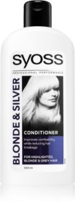 Syoss Blonde & Silver Conditioner for Blonde and Grey Hair