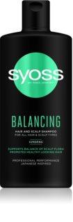 Syoss Balancing vyživující šampon na vlasy a vlasovou pokožku