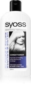 Syoss Blonde & Silver Rengöringsbalsam För blont och grått hår