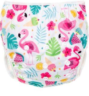 T-Tomi Diaper Swimwear Flamingo plenky do vody 5-12 kg