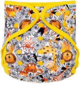 T-Tomi Diaper Covers Safari Höschenwindeln 4-15 kg