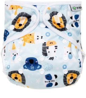 T-Tomi Diaper Covers Animals Höschenwindeln 4-15 kg