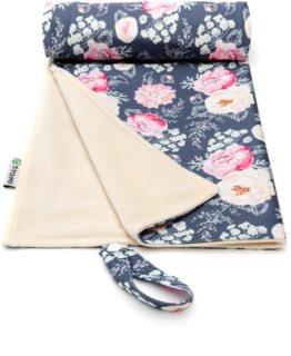 T-Tomi Changing Pad Grey Flowers - Colour Wickelunterlagen 50x70 cm