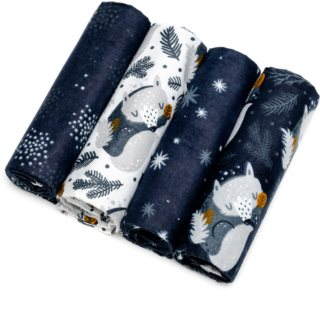 T-Tomi Cloth Diapers Night Foxes Stoffwindeln 76x76 cm