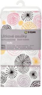 T-Tomi Cloth Towels Circles Badetuch 80x100 cm