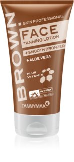 Tannymaxx Brown Face Solarium Tanning Cream with Bronzer To Extend Tan Lenght