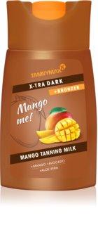 Tannymaxx Mango me X-tra Dark молочко для засмаги у солярії з бронзером