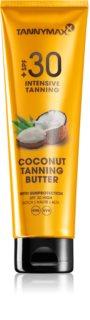 Tannymaxx Coconut Butter Skyddande kroppssmör  SPF 30