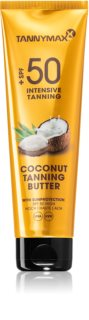 Tannymaxx Coconut Butter защитно масло за тяло 50+