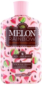 Tannymaxx 6th Sense Melon Rainbow Solarium Slimming Tanning Lotion for Dark Tan