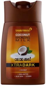 Tannymaxx Coco Me! XtraDark mlijeko za sunčanje u solariju s bronzerom