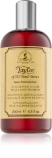 Taylor of Old Bond Street Sandalwood шампунь и гель для душа