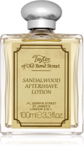 Taylor of Old Bond Street Sandalwood lotion après-rasage