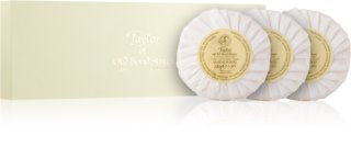 Taylor of Old Bond Street Sandalwood Feuchtigkeit spendende Luxusseifen im Set