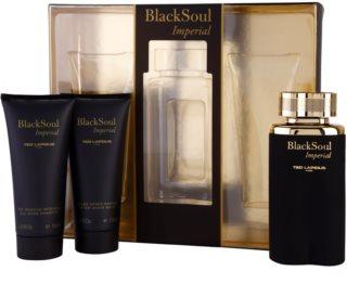 Ted Lapidus Black Soul Imperial подаръчен комплект I. за мъже