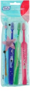 TePe Kids 4 stk ekstrabløde tandbørster