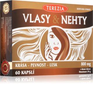 Terezia VLASY & NEHTY pro podporu pevnosti, lesku vlasů a nehtů