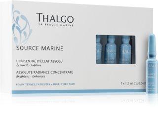 Thalgo Source Marine озаряващ концентрат за уморена кожа