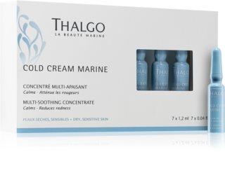 Thalgo Cold Cream Marine concentrado regenerador para pieles irritadas y sensibles