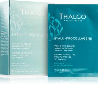 Thalgo Hyalu-Procollagen Wrinkle Correcting Pro Eye Patches изглаждата маска за околоочната зона
