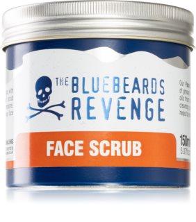 The Bluebeards Revenge Face Scrub Exfoliating Face Cleanser for Men