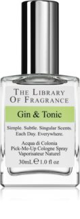 The Library of Fragrance Gin & Tonic Eau de Cologne for Women