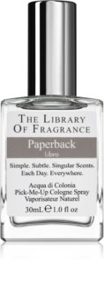 The Library of Fragrance Paperback agua de colonia unisex