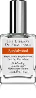 The Library of Fragrance Sandalwood  agua de colonia unisex