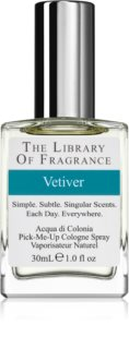 The Library of Fragrance Vetiver  Eau de Cologne for Men