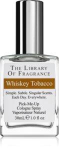 The Library of Fragrance Whiskey Tobacco água de colónia para homens
