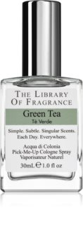 The Library of Fragrance Green Tea eau de cologne mixte
